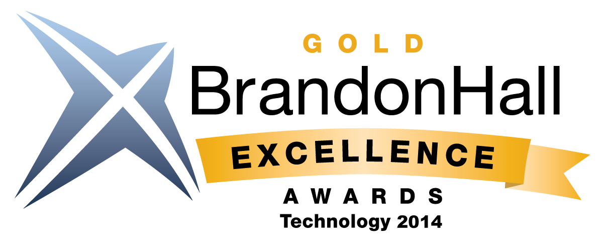 2014 Brandon Hall Excellence Gold Award Winner